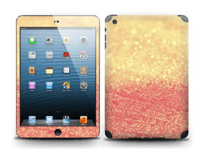 Orange glitter Skin IPad mini 2