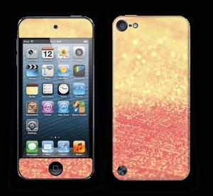 Orange glitter Skin IPod Touch 5th Gen