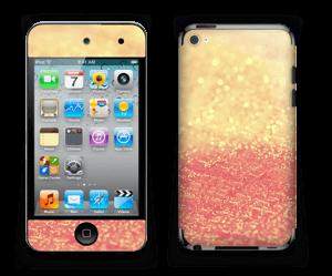 Orange glitter Skin IPod Touch 4th Gen