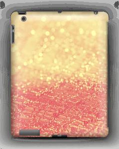 Orange glitter deksel IPad 4/3/2