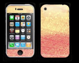 Orange glitter Skin IPhone 3G/3GS