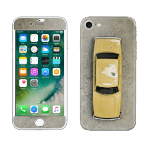 Vintage NYC taxi Skin IPhone 7