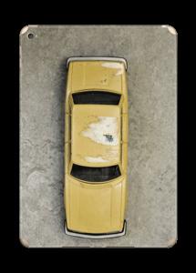Vintage NYC taxi Skin IPad Air 2