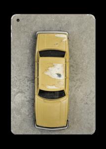 Vintage NYC taxi Skin IPad 2017
