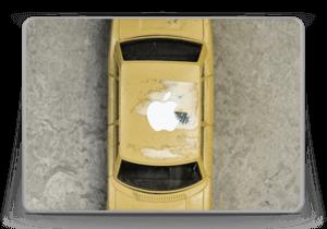 "Vintage NYC taxi Skin MacBook Pro 13"" -2015"