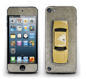 Vintage NYC taxi Skin IPod Touch 5th Gen
