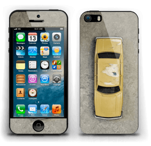 Vintage NYC taxi Skin IPhone 5s