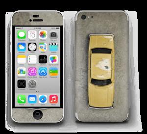 Vintage NYC taxi Skin IPhone 5c