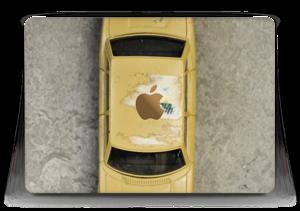 """Vintage NYC taxi Skin MacBook 12"""""""