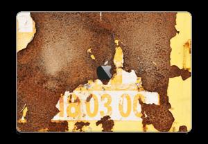 """Rusten vegg Skin MacBook Pro 15"""" 2016-"""