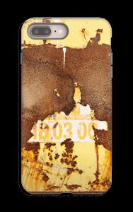 Rusten vegg deksel IPhone 8 Plus tough