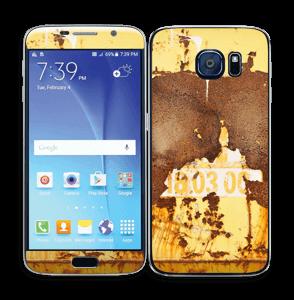 Rusten vegg Skin Galaxy S6