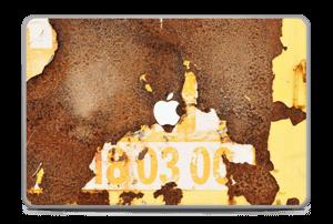 """Rusten vegg Skin MacBook Pro 17"""" -2015"""