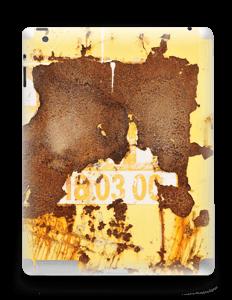 Rusten vegg Skin IPad 4/3/2