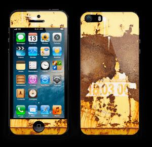Rusten vegg Skin IPhone 5s