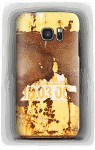 Rusten vegg deksel Galaxy S7