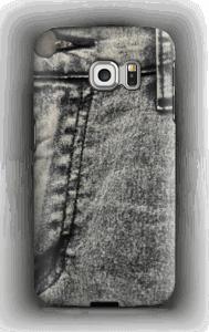 Favoritt jeansen deksel Galaxy S6 Edge