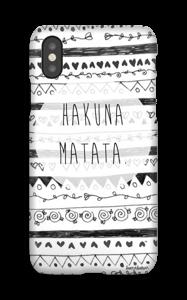 Hakuna Matata hoesje IPhone X