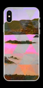 Orange trekant Skin IPhone X