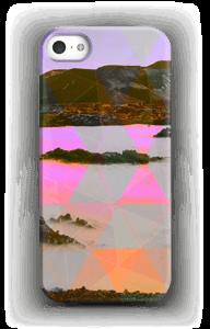 Orange trekant deksel IPhone 5/5S