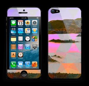 Orange trekant Skin IPhone 5