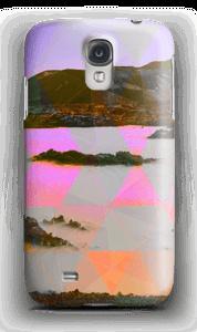 Orange trekant deksel Galaxy S4