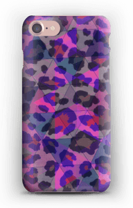 Lilla leopard deksel IPhone 7
