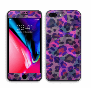 Lilla leopard Skin IPhone 8 Plus