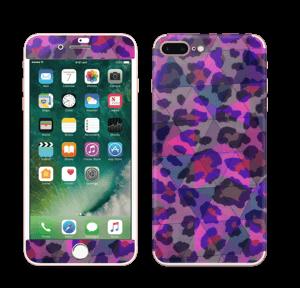 Lilla leopard Skin IPhone 7 Plus