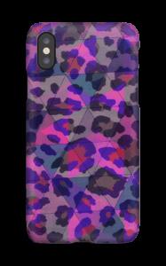 Lilla leopard deksel IPhone X
