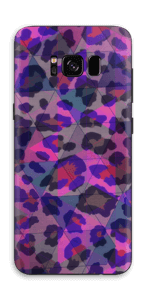 Lilla leopard Skin Galaxy S8
