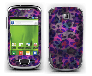 Lilla leopard Skin Galaxy Mini