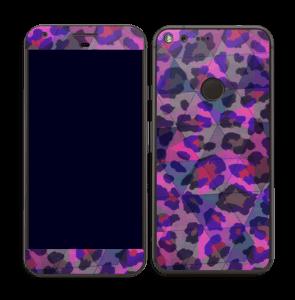 Lilla leopard Skin Pixel XL