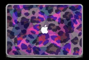 "Lilla leopard Skin MacBook Pro 17"" -2015"