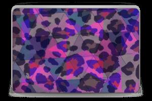 Lilla leopard Skin Laptop 15.6