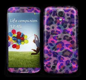 Lilla leopard Skin Galaxy S4