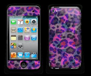 Lilla leopard Skin IPod Touch 4th Gen