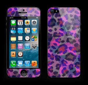 Lilla leopard Skin IPhone 5