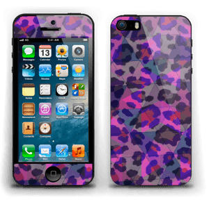 Lilla leopard Skin IPhone 5s