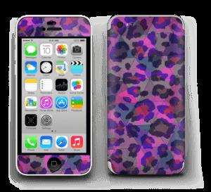 Lilla leopard Skin IPhone 5c