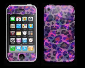 Lilla leopard Skin IPhone 3G/3GS