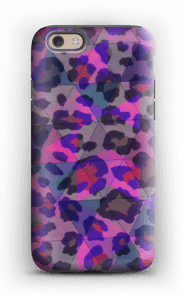 Lilla leopard deksel IPhone 6s tough