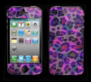 Lilla leopard Skin IPhone 4/4s