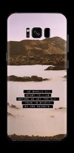Words by Marilyn Skin Galaxy S8 Plus