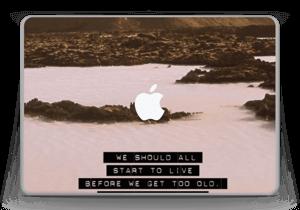 "Words by Marilyn Skin MacBook Pro 13"" -2015"