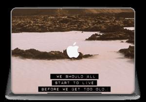 "Words by Marilyn Skin MacBook Pro Retina 15"" 2015"