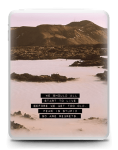 Words by Marilyn Skin IPad 1