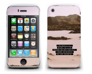 Words by Marilyn Skin IPhone 3G/3GS