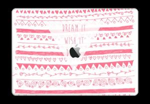 """Dream it, Wish it, Do it Skin MacBook Pro 15"""" 2016-"""