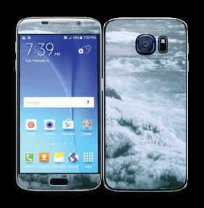 Blue winter Skin Galaxy S6